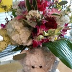 Baby flower arrangement