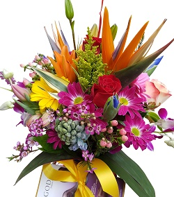 Get Well Floral Arrangement