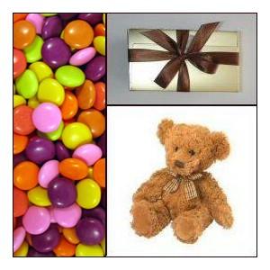 Candy Teddy Chocolate Gift Combo