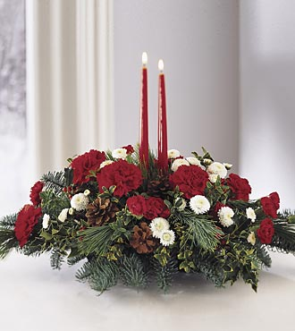 Lights Of The Season Centerpiece
