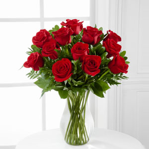 Red roses Arrangement 12